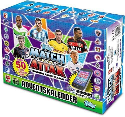AK Match Attax Advent calendar 2015 by Match Attax