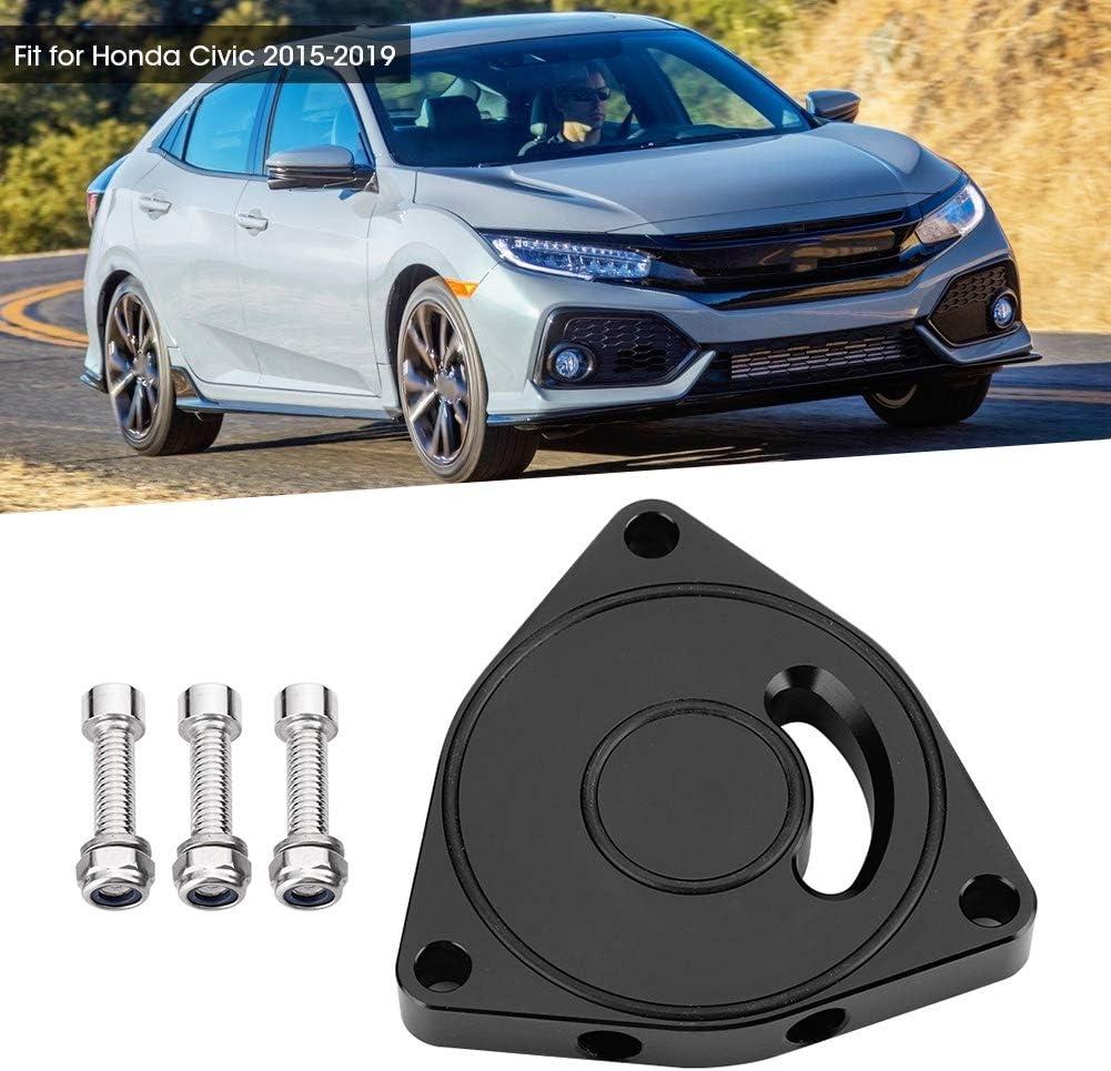 KIMISS Blow Off Valve Plate,Car Aluminum Alloy Turbo Blow Off Valve Plate Spacer BOV 1.5T Fit for 2015-2019