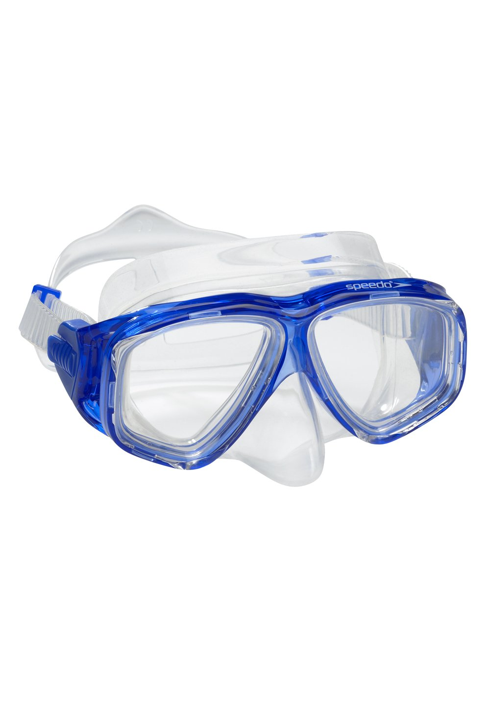 Speedo Adult Recreation Dive Mask, Blue, 1SZ by Speedo
