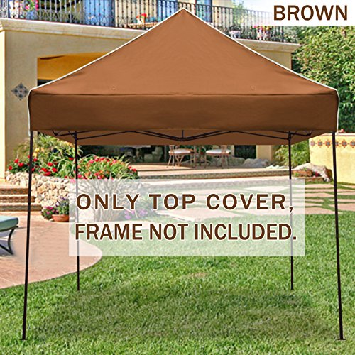Quick Shade Replacement Canopy Top : Strong camel ez pop up canopy replacement top instant