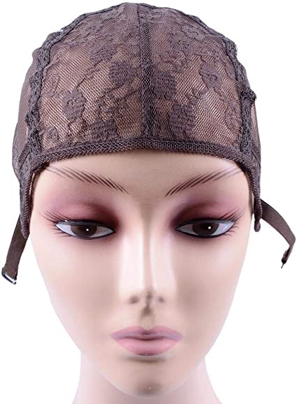 Gorra de peluca Marrón oscuro S/M/L/Xl Gorras de peluca para hacer ...