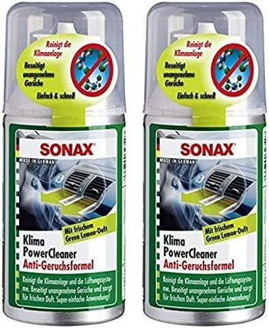 SONAX Limpiador desinfectante de Aire Acondicionado, Set 2 x 150 ...
