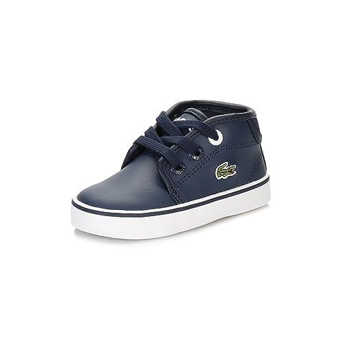 Lacoste Niños Azul Marino Ampthill 316 2 SPI Zapatillas: Amazon.es: Zapatos y complementos