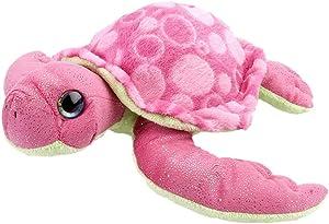 "Wild Republic Sea Turtle Stuffed Animal, Plush Toy, Gifts for Kids, Sweet & Sassy 12"""
