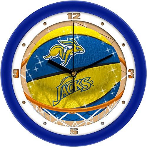 SunTime NCAA South Dakota State Jackrabbits Slam Dunk Wall Clock