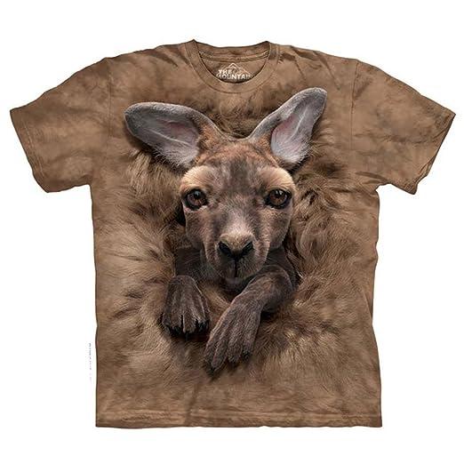 218f7d79 Amazon.com: The Mountain Kids Baby Kangaroo T-Shirt: Clothing