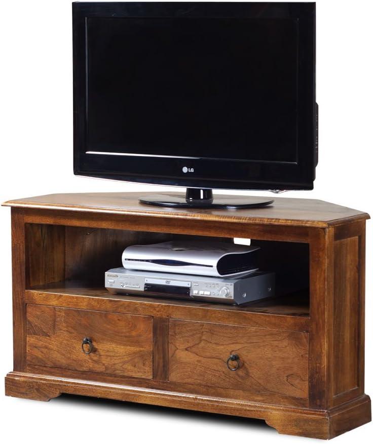 Casa Bella Furniture Tenali Mango - Mueble esquinero para TV: Amazon.es: Hogar