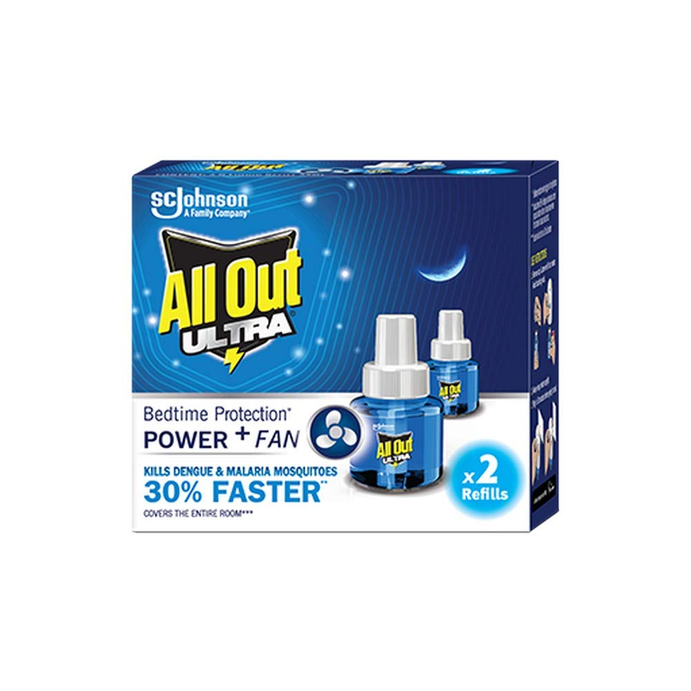 All Out Ultra Mosquito Repellant Refill, 2 units
