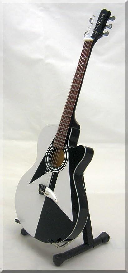MICHAEL SCHENKER UFO Scorpions Acoustic Miniatura Guitarra: Amazon ...