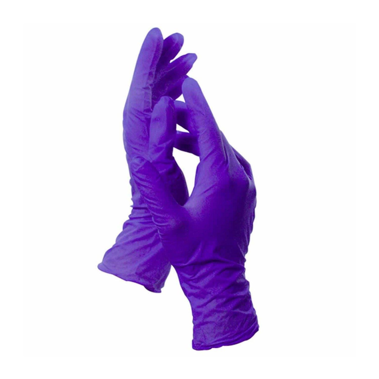 Spa Essential Nitralon Gloves, Medium 100 Count - Latex Free, Powder Free