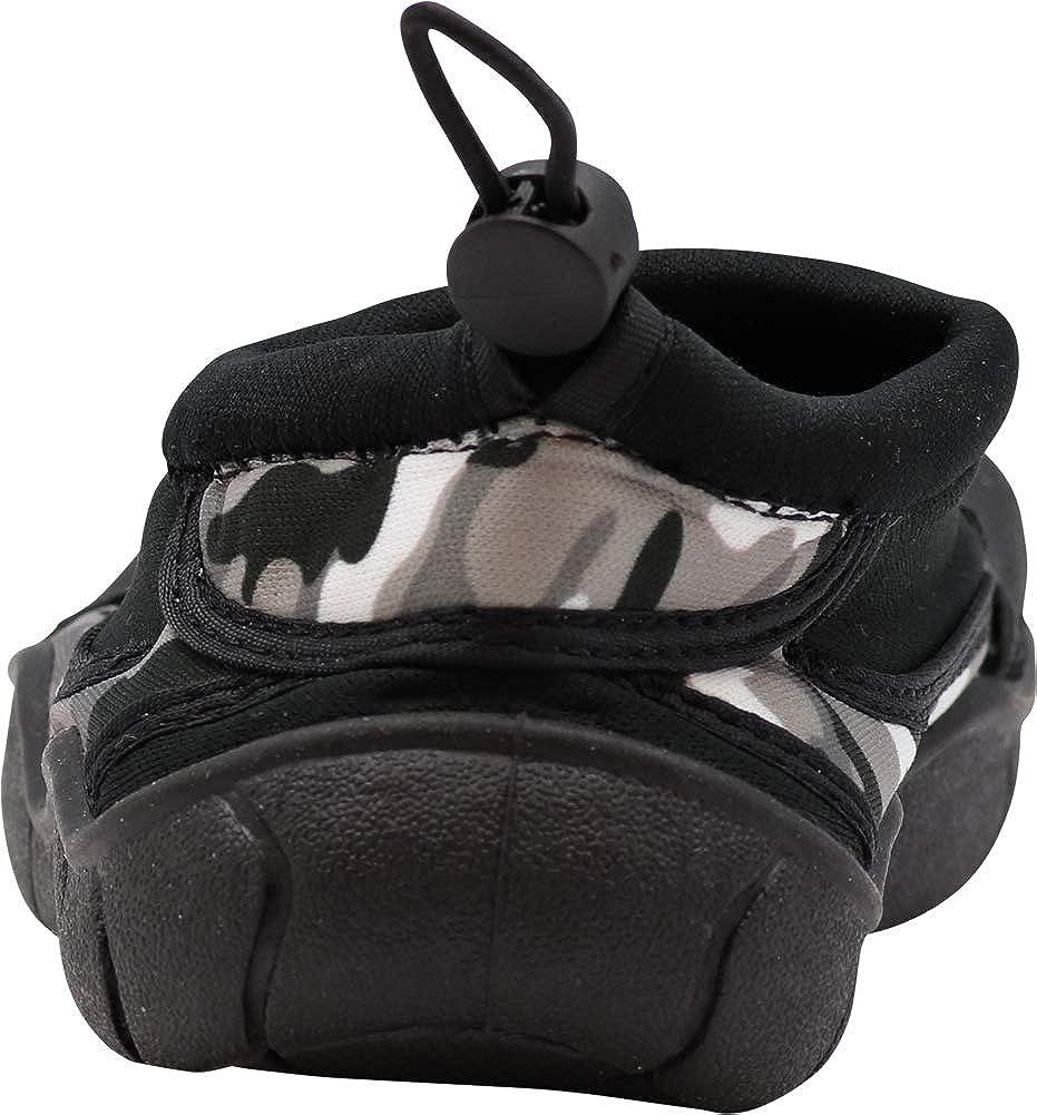 8864217dc Amazon.com: NORTY - Little Boys Skeletoe Mesh Waterproof Athletic Aqua Socks  for Pool Beach with Camouflage Trim, Black 40946-11MUSLittleKid: Shoes