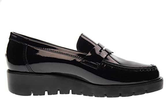 CALLAGHAN shoe women moccasins with wedge 89803 HAMAN BLACK size 41 BLACK:  Amazon.co.uk: Shoes & Bags