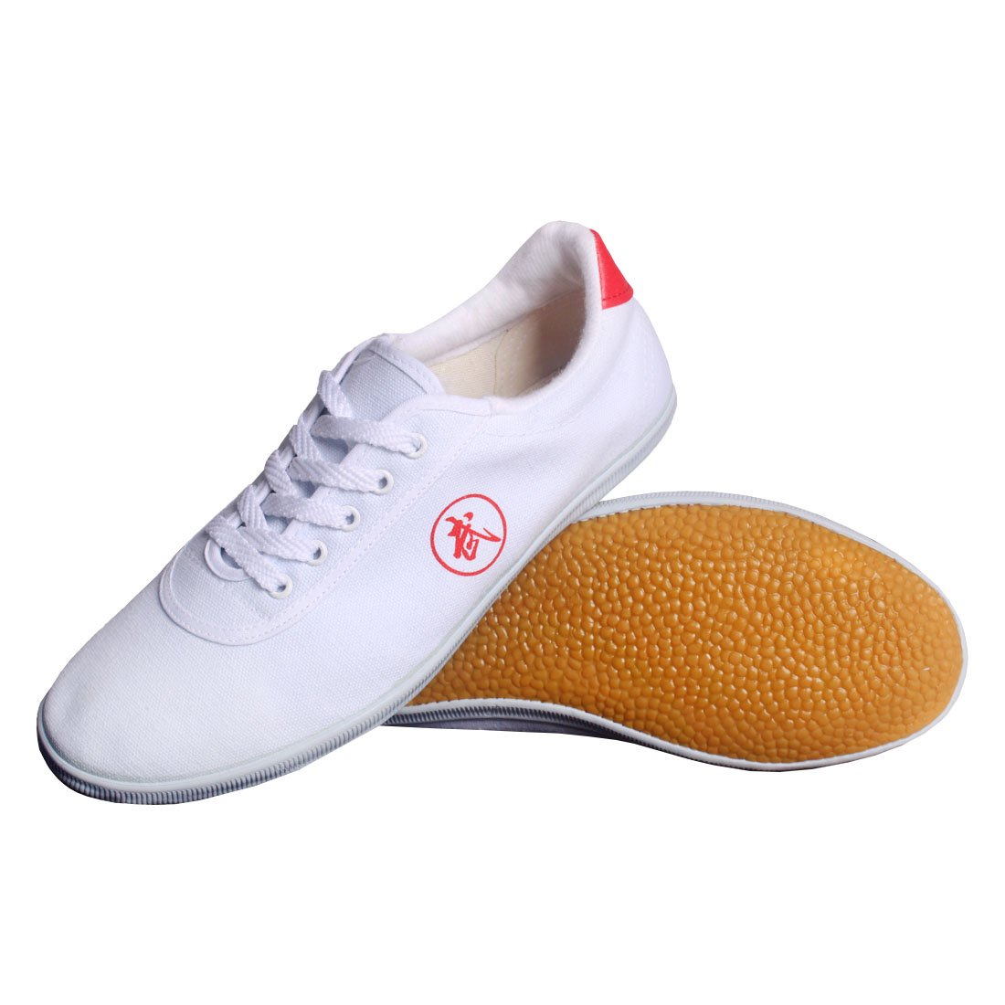 Andux artes marcial Kung Fu Tai Chi zapatos de Dichotomanthes Sole Old Beijing Unisex Zapatos TJX-01 Blanco