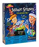 Scientific Explorer Magic Science for Wizards Only Kit is the perfect gift for the curious child who wants to master magic. Anyone can learn and perform a magic trick, but a true master magician understands the basics of how magic works and can take ...