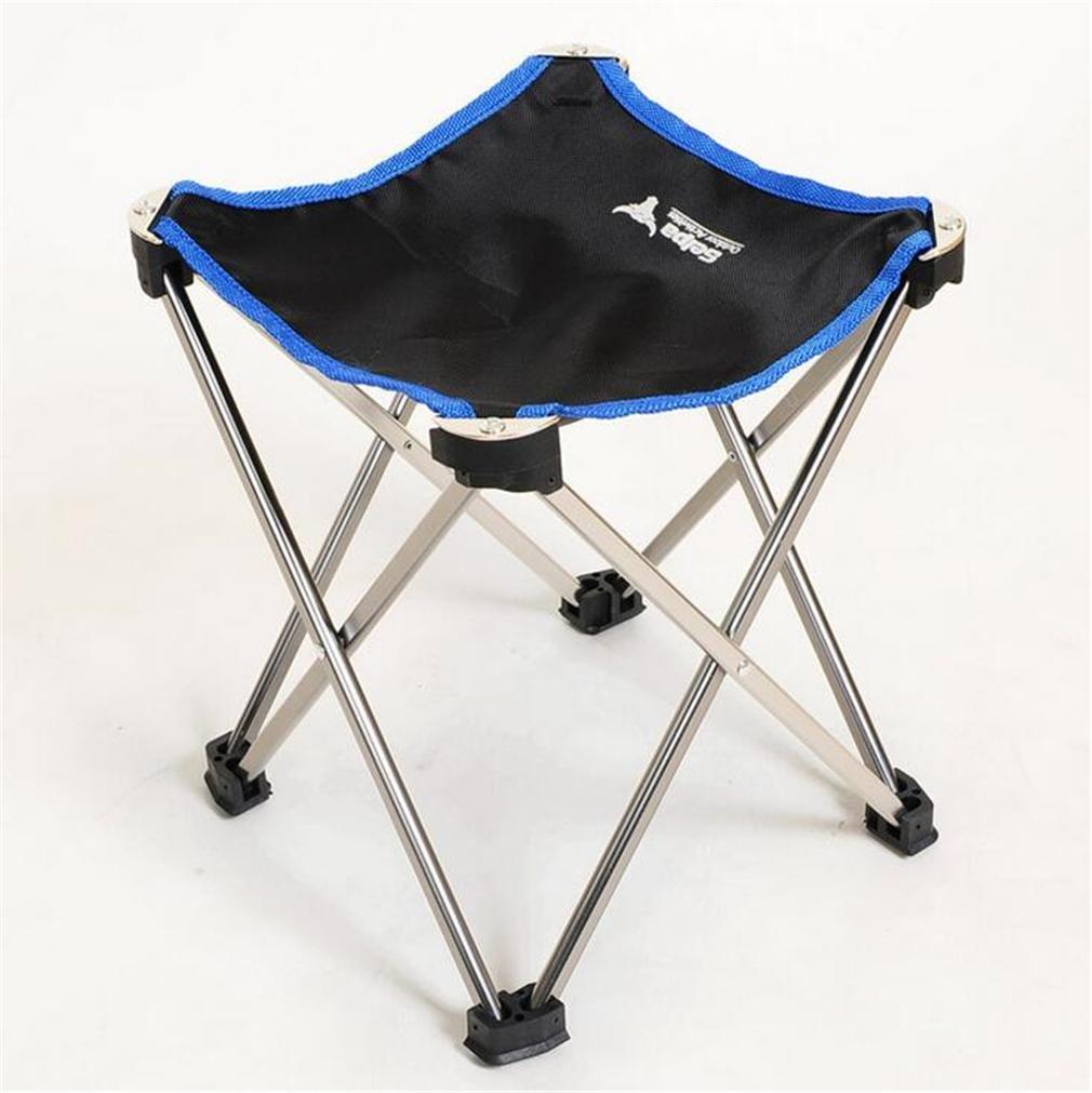 ZHDNG Klappstuhl im Freien Moon Chair Angeln Camping Tragbare zusammenklappbare Aluminiumlegierung