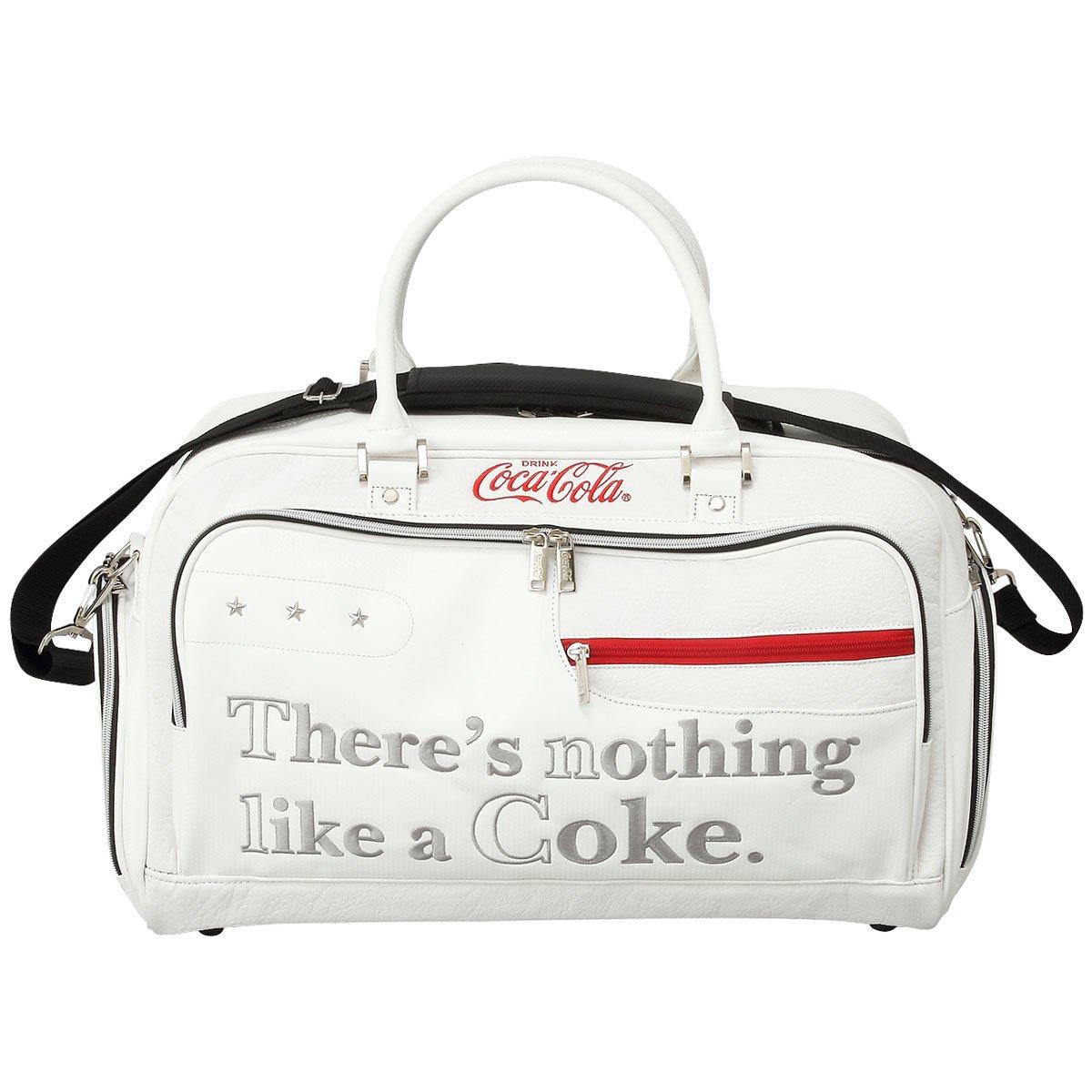 Coca-Cola(コカコーラ) ゴルフ ボストンバッグ ホワイト   B06WVGWD24