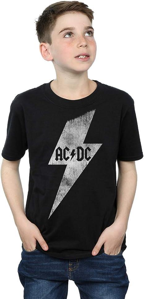 AC/DC niños Lightning Bolt Camiseta: Amazon.es: Ropa y accesorios