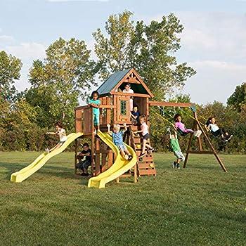 Amazon.com: Backyard Discovery Springboro All Cedar Wood ...
