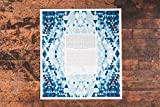 Twinkling Romance Ketubah | Jewish/Interfaith Wedding Certificate | Hand-Painted Watercolor, Giclée Print