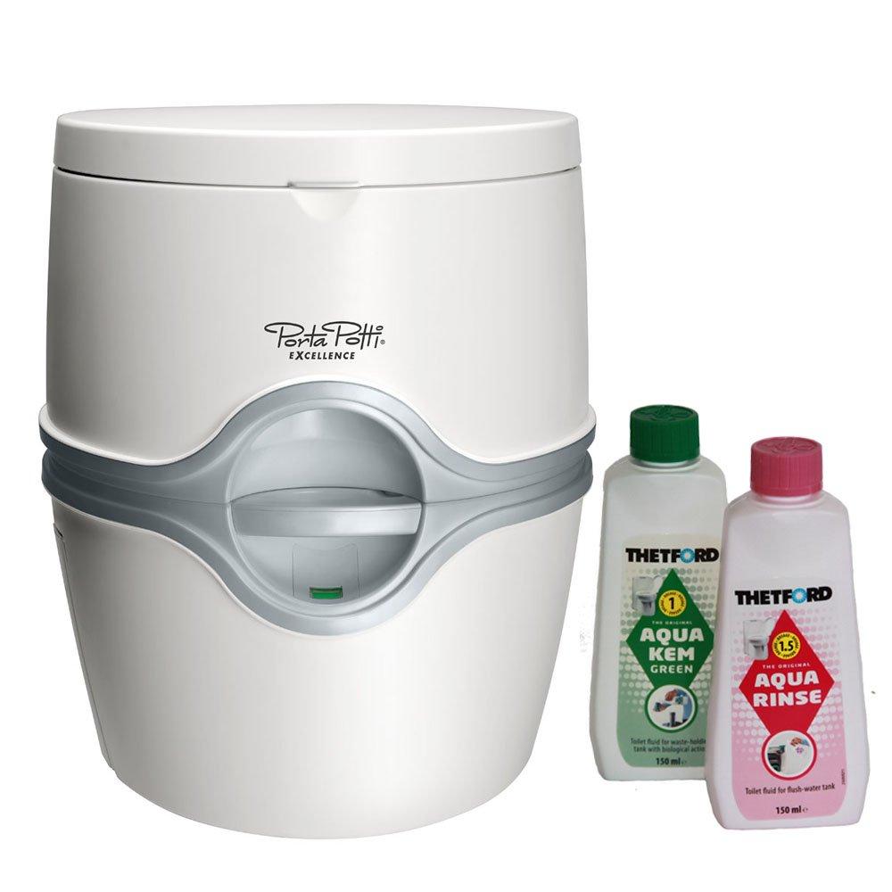 Thetford Tragbare Frischwassertoilette Porta Potti Excellence ELECTRIC mit elektrischer Pumpe bootsshop Edition