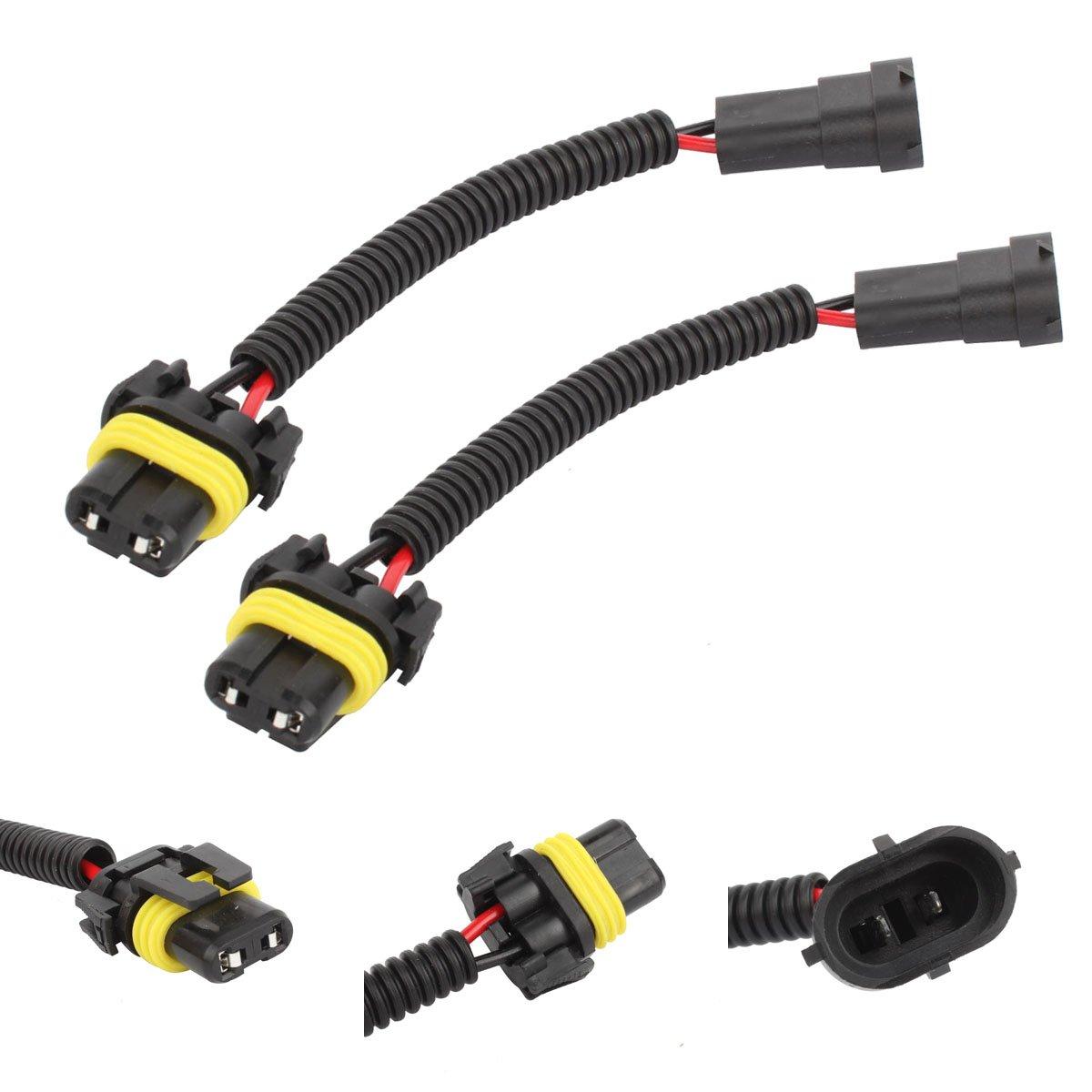 5 pollici TOMALL Cablaggio Retrofit Faro H11 a LED H7 Adattatore Connettore Presa 12 cm