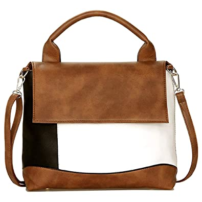 Amazon.com: Relic: elegante bolso de mano de piel vegana ...