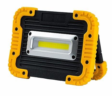 Mettime 10W Portátil Foco Lámpara LED Proyector Lámpara Camping ...