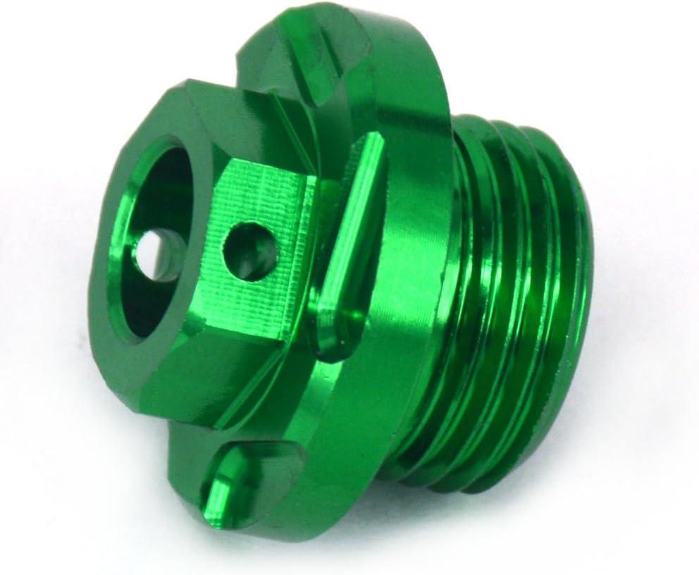 ATV CNC Billet Engine Oil Filler Plug For KX250 KX250F KX450F KLX450R KFX450R Husqvarna TE250 TC250 09-13