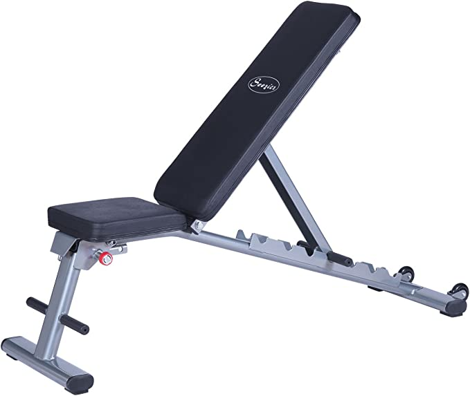 Soozier 7 Position Adjustable Weight Bench Review