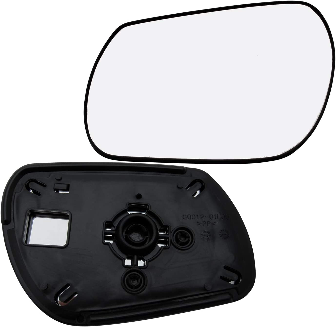 9 Sold By Rugged TUFF New Replacement Driver Side Mirror Glass W Backing Compatible With 2004 2005 2006 2007 2008 2009 Mazda 3