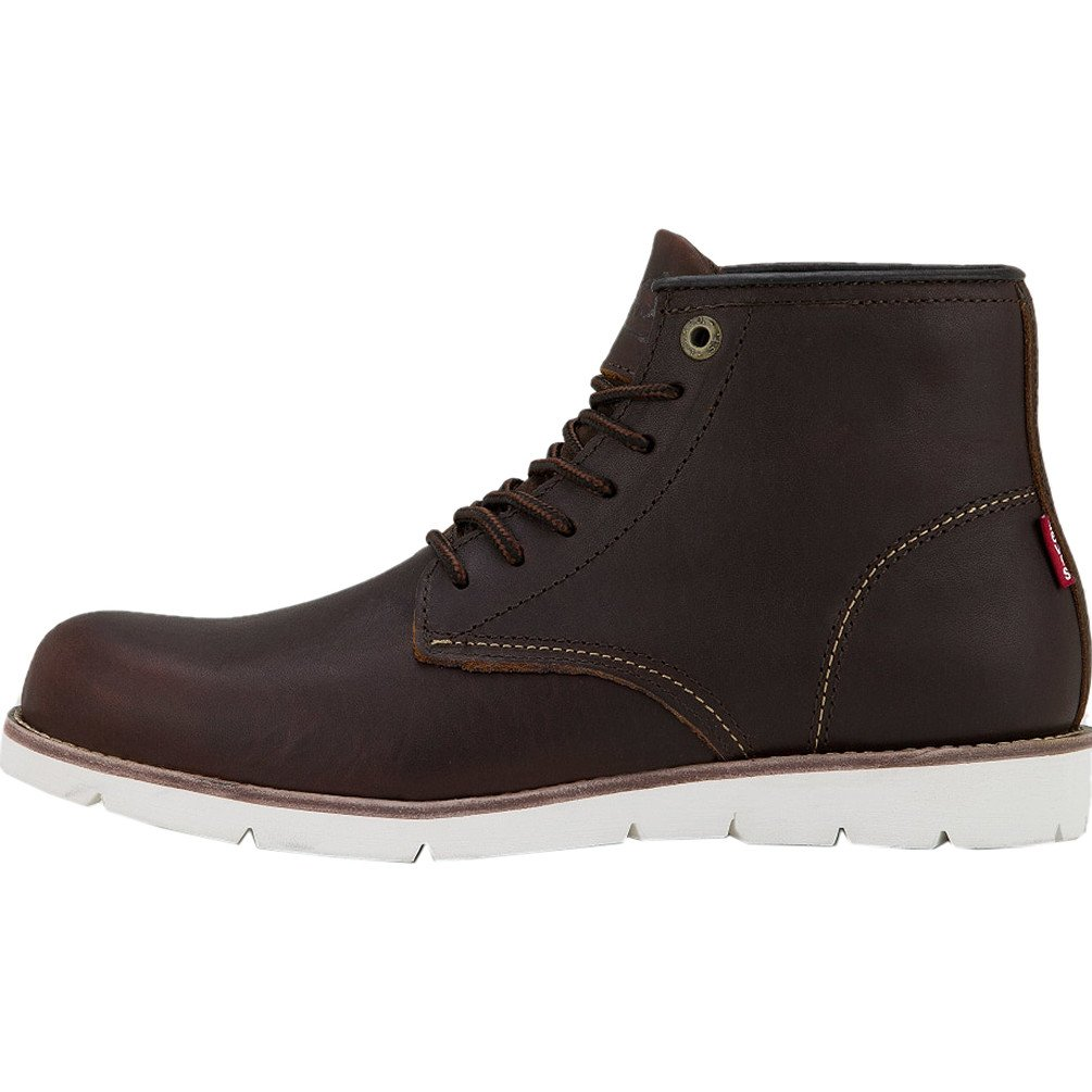 Levis Jax Clean High Boots UK 10 Dark Brown