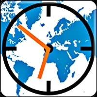 Time zones map