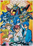 GE Animation Gundam Build Fighters Try-Group Fabric Poster Cool Anime Item