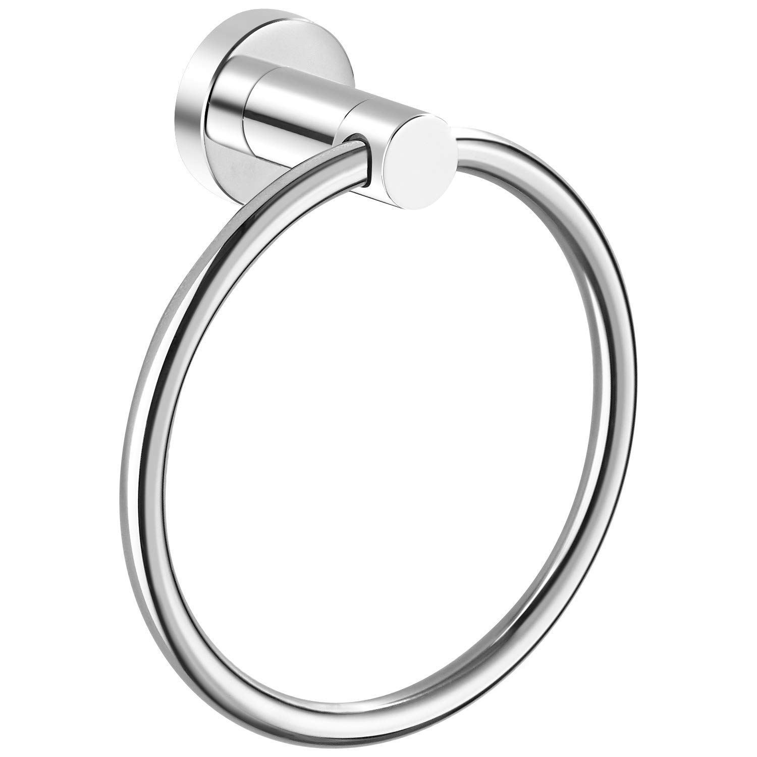 Marmolux Acc Towel Ring Bathroom Hand Towel Holder Round Towel Hanger Bath Towel Rack Circle Rings Door Hanger Organizer Bathroom Hardware Accessories Wall Mount Stainless Steel Polished Chrome by Marmolux Acc
