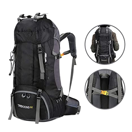 8b18fede71 Amazon.com   WINNING Hiking Backpack 60L