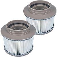2 STUKS Filters voor Bubbelbaden voor MSPA FD2089, Filterpatroonpomp voor MSPA, Filters Vervangen voor Zwembad, Hot Sub…