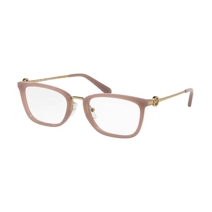 más de moda fabricación hábil bastante baratas Michael Kors 0MK4054 Monturas de gafas, Milky Pink, 52 para ...