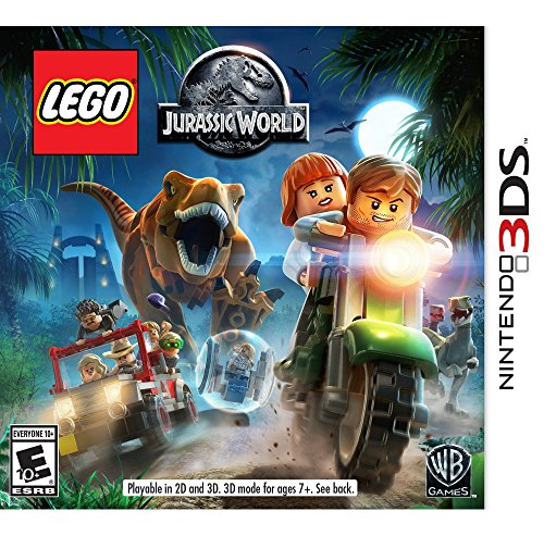 LEGO Jurassic World - Nintendo 3DS (Best Racing Game For Vita)