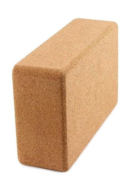Amazon.com: Yoga Block Cork, High Density Yoga Foam Brick ...