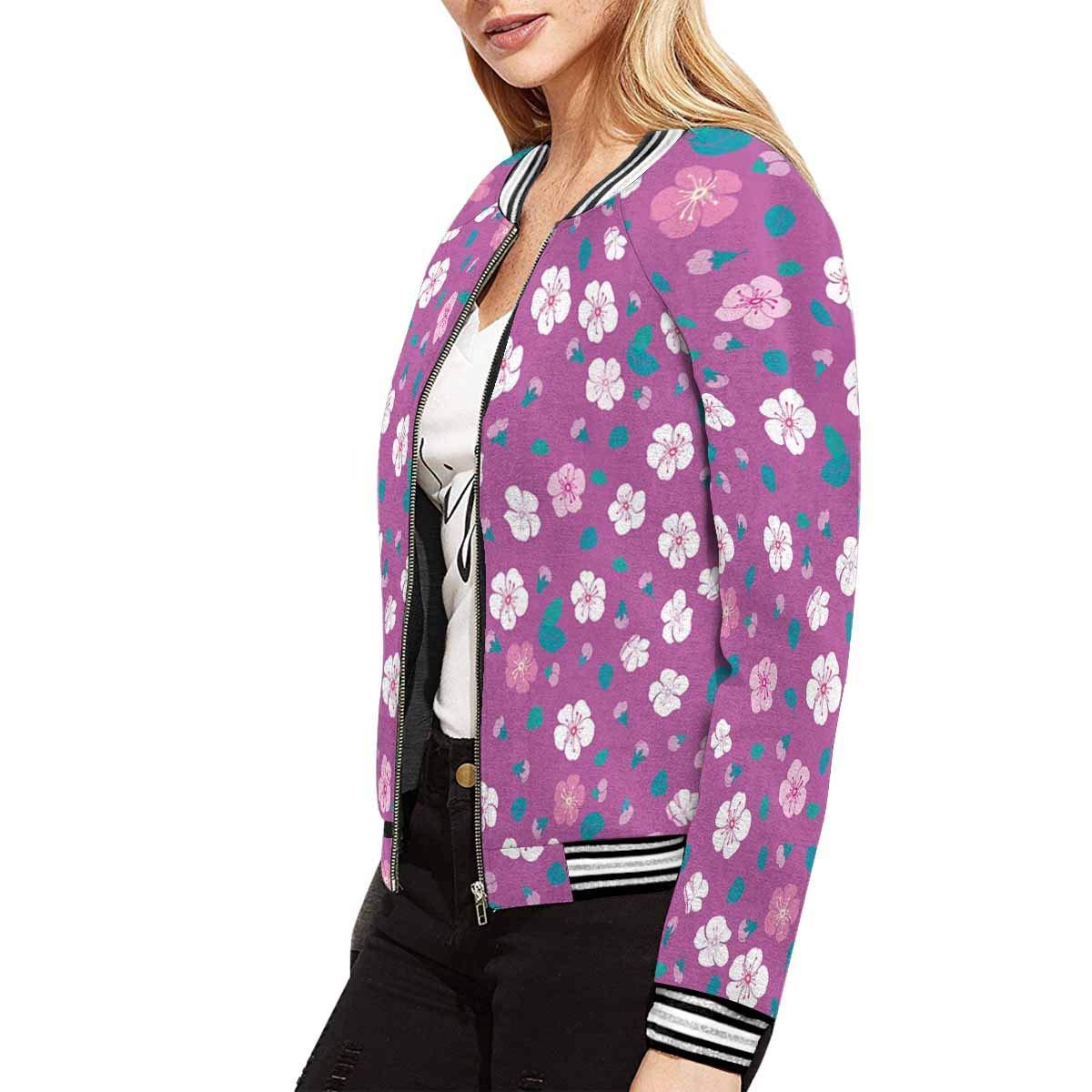 INTERESTPRINT Womens Lightweight Bomber Jackets and Coats