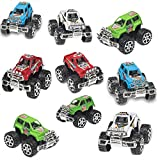 Pack of 24 Monster Pullback Trucks Stocking Stuffers Party Favors