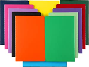 XYark 12 PCS Colorful Notebook Journals Bulk, Lined Paper, College Ruled, 60 Pages, 5.5