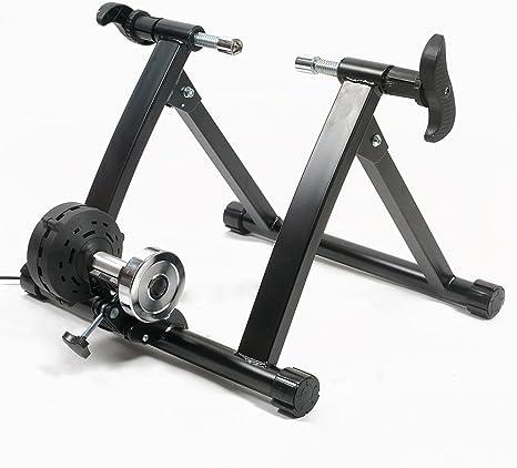Lixada Rodillo de Ciclismo Magnético Bicicleta Turbo Trainer ...