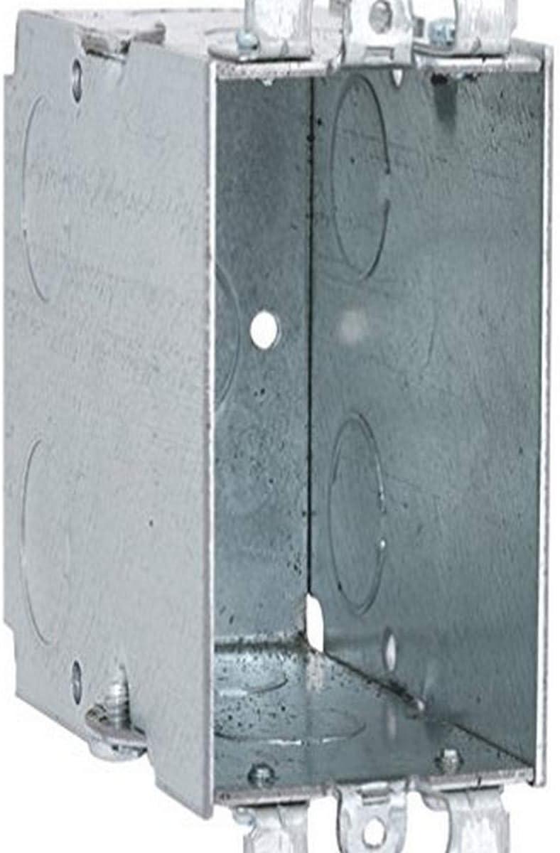 "Raco 590 Electrical Box Switch 3/"" X 2/"" X 3-1//2/"" 1 Gang"