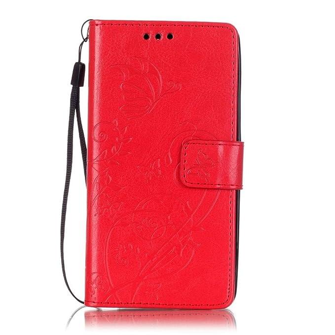 3 opinioni per KATUMO®Case per Huawei G Play Mini, Cuoio Caso con Carta di Creditoi Slots Flip