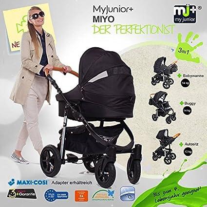My Junior + Miyo 3in 1Juego completo de carrito para niñ