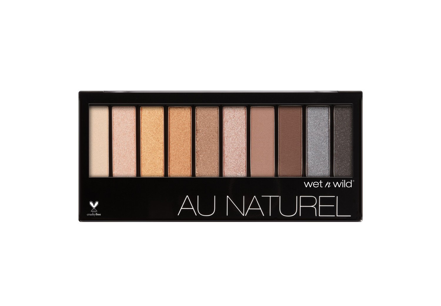 Wet n Wild 753A Color icon au naturel 10-pan eyeshadow palette, 0.29 Ounce, Bare Necessities Markwins Beauty Products