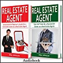Real Estate Agent: 2 Manuscripts in 1: The Beginner's Guide + Tips and Tricks for a Successful Career Audiobook by Alex Johnson Narrated by Pete Beretta