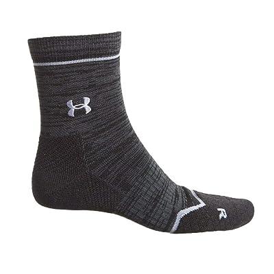 Under Armour Men's UA Tour Mid Crew Socks Large Black: Clothing