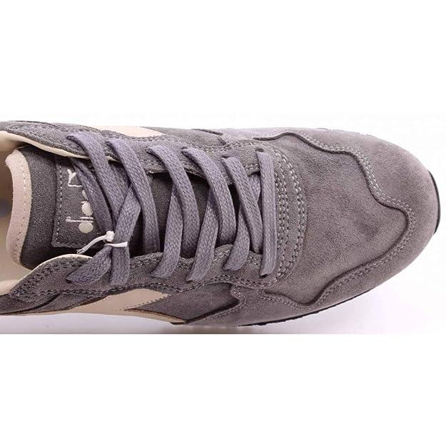 Diadora Heritage Scarpe Sneakers Uomo Trident S SW Storm Gray Grigio Vintage New